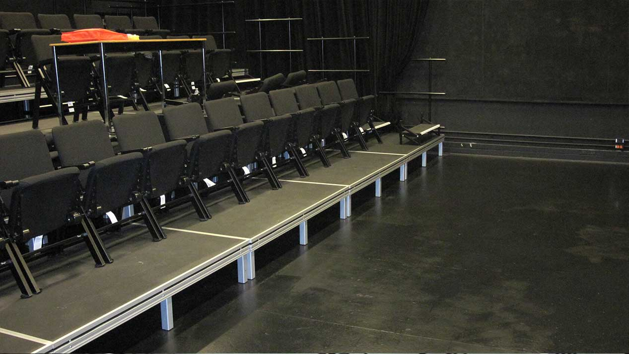 Example of Audience Seating Risers