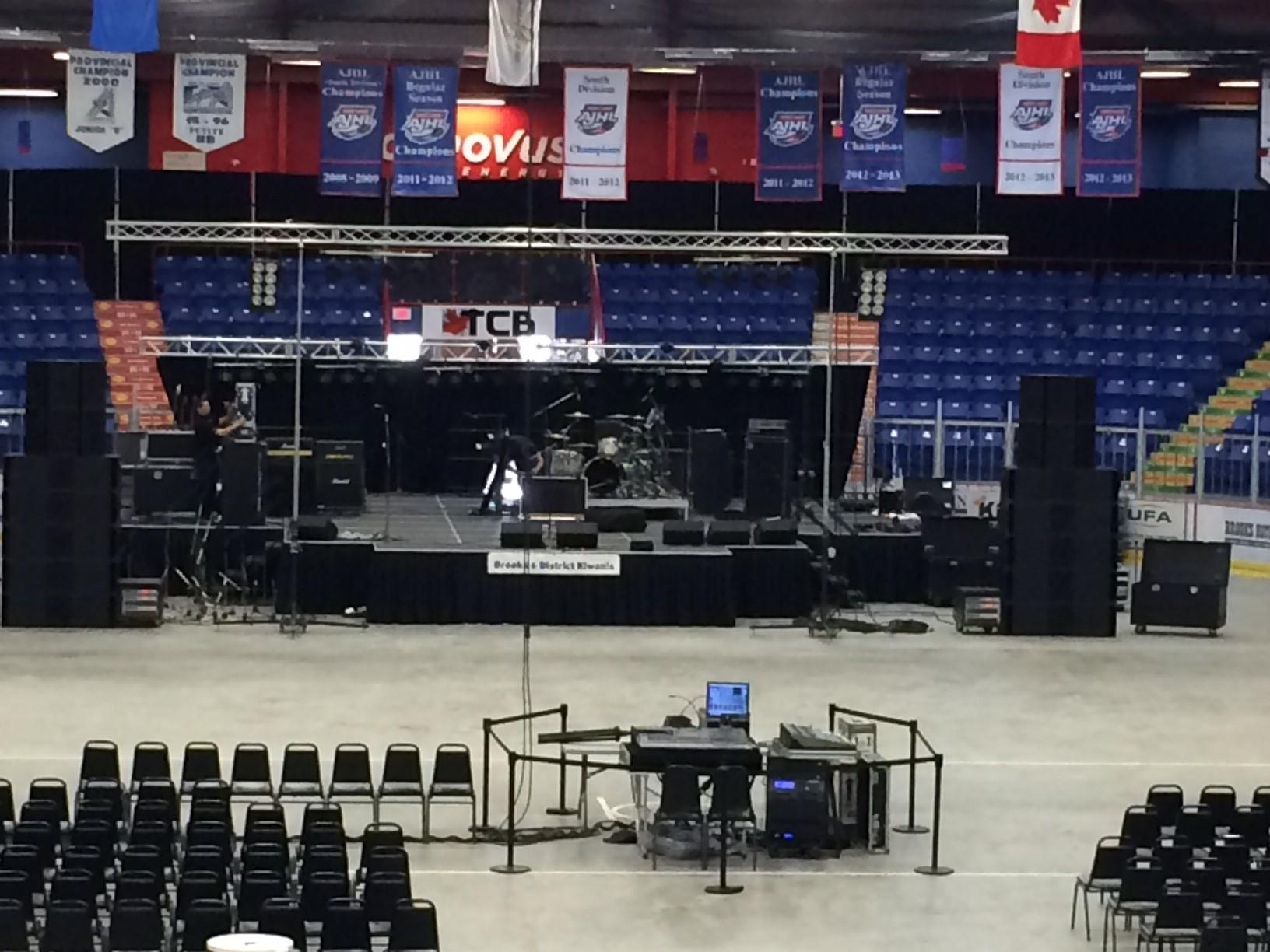 Concert Stage in Auditorium