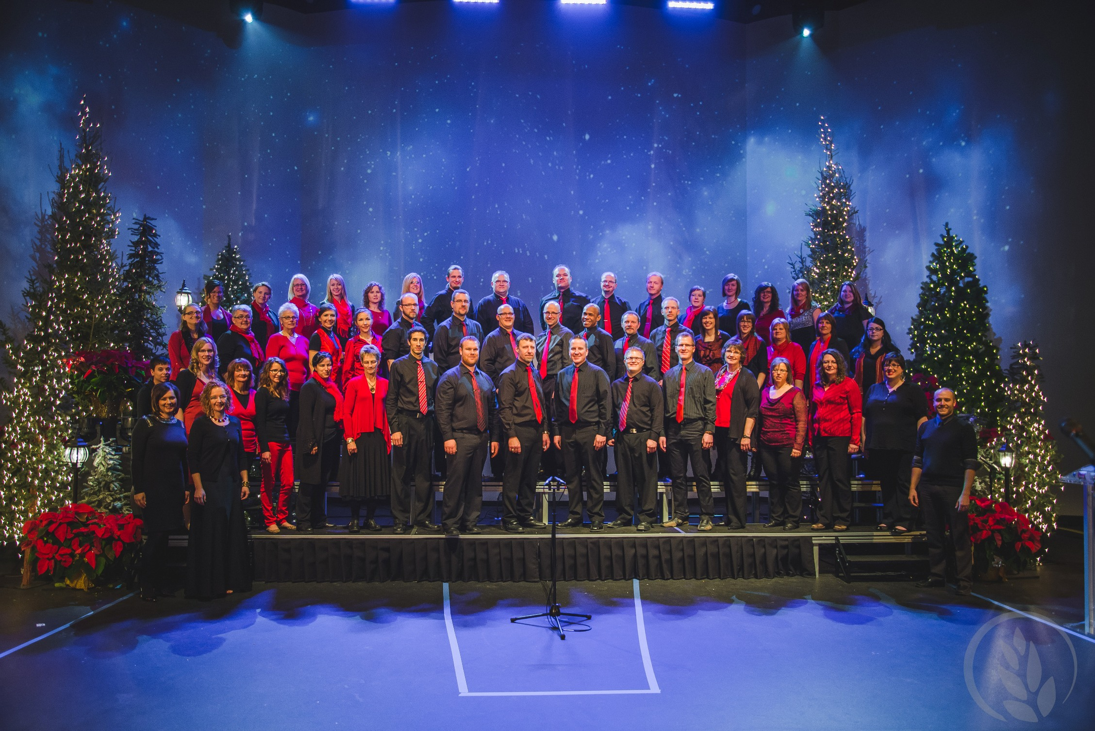 Christmas Concert on Stage